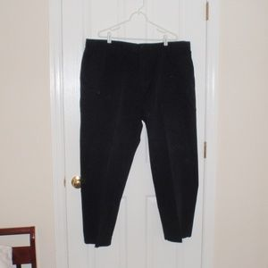 men's Chaps black pants